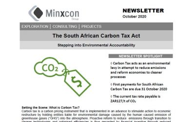October 2020 – The Carbon Tax Act